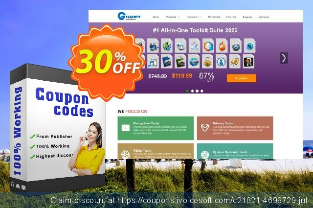 Gilisoft Video Joiner Lifetime - 3 PC discount 30% OFF, 2019 Thanksgiving Day offering sales
