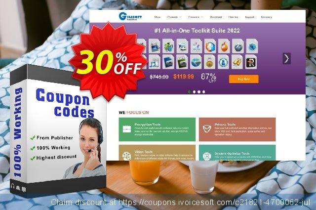 Gilisoft Video Splitter - 3 PC / Lifetime discount 30% OFF, 2020 Working Day promotions