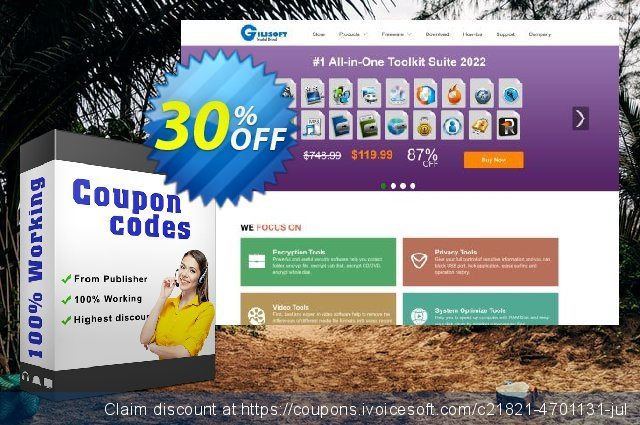 Gilisoft Add Subtitle to Video discount 30% OFF, 2020 Fourth of July offering deals