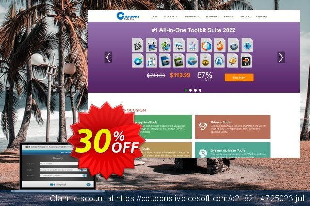 Gilisoft Video Watermark Removal Tool discount 30% OFF, 2019 Black Friday sales