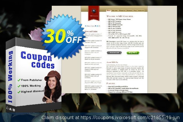MDI to ePub Converter discount 30% OFF, 2020 Labour Day offering sales