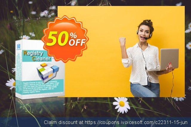 Get 50% OFF AthTek Registry Cleaner offering sales