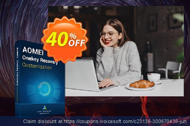 AOMEI OneKey Recovery Customization discount 30% OFF, 2021 Earth Hour offering sales