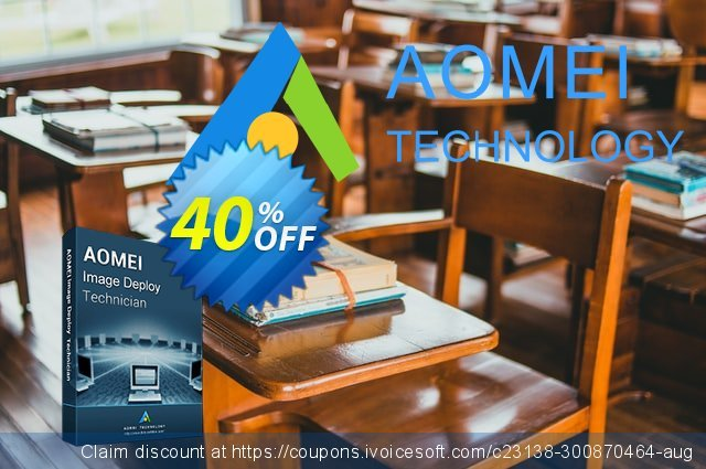 AOMEI Image Deploy Technician discount 30% OFF, 2019 Year-End offering deals