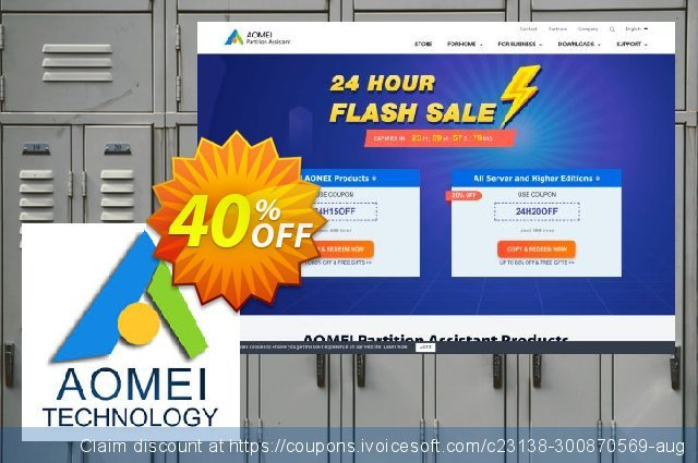 AOMEI Centralized Backupper Server discount 30% OFF, 2021 National Women month promo sales