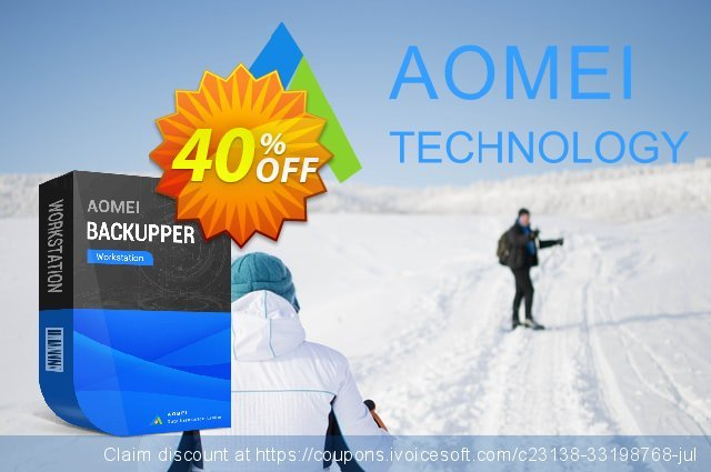 AOMEI Backupper Workstation discount 30% OFF, 2021 April Fools' Day offer