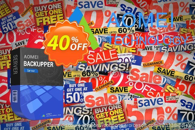 AOMEI Backupper Server discount 30% OFF, 2020 Summer deals