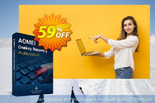 AOMEI OneKey Recovery Pro (Family License) discount 59% OFF, 2020 Summer offering sales