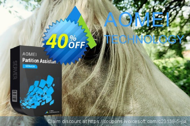 AOMEI Partition Assistant Server discount 30% OFF, 2020 Teacher deals offering sales