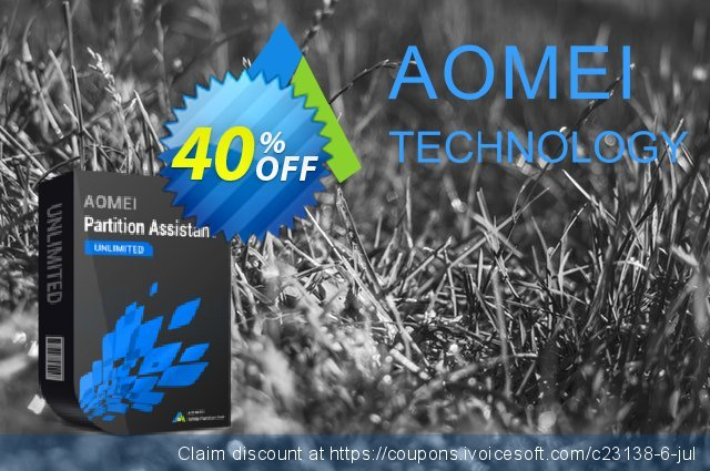 AOMEI Partition Assistant Unlimited Screenshot