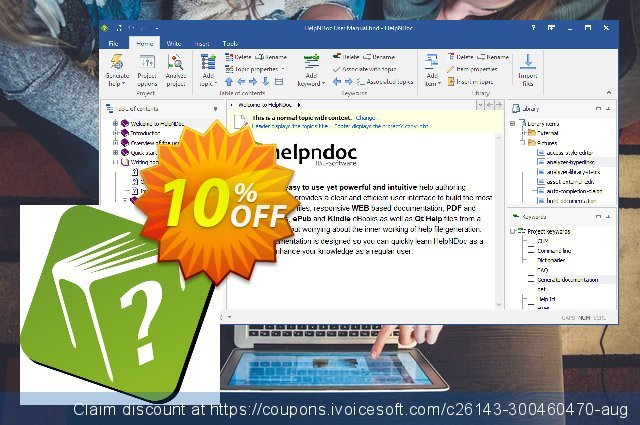 HelpNDoc Professional Edition (Floating License) discount 10% OFF, 2020 January promotions