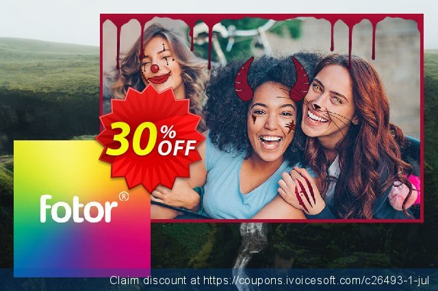 Get 30% OFF Fotor PRO offering sales