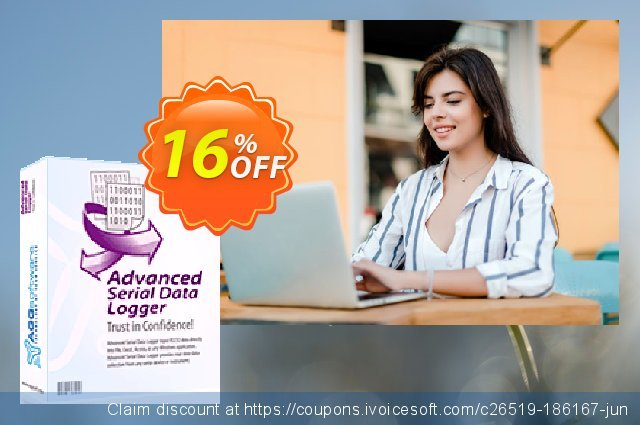 Aggsoft Advanced Serial Data Logger Professional 气势磅礴的 产品销售 软件截图