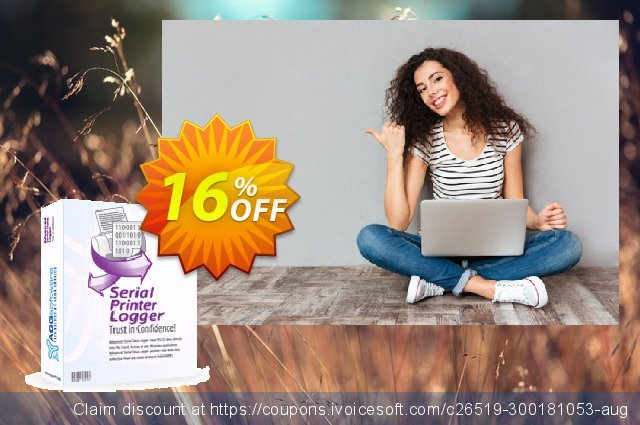 Aggsoft Serial Printer Logger Enterprise discount 16% OFF, 2020 Christmas & New Year offering sales