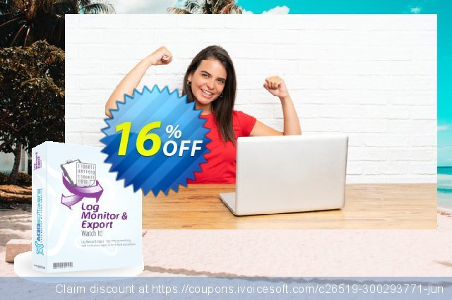 Aggsoft Log Monitor & Export Enterprise discount 16% OFF, 2021 Happy New Year offering sales