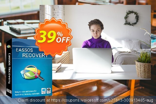 Eassos Recovery Lifetime License discount 39% OFF, 2020 College Student deals discounts