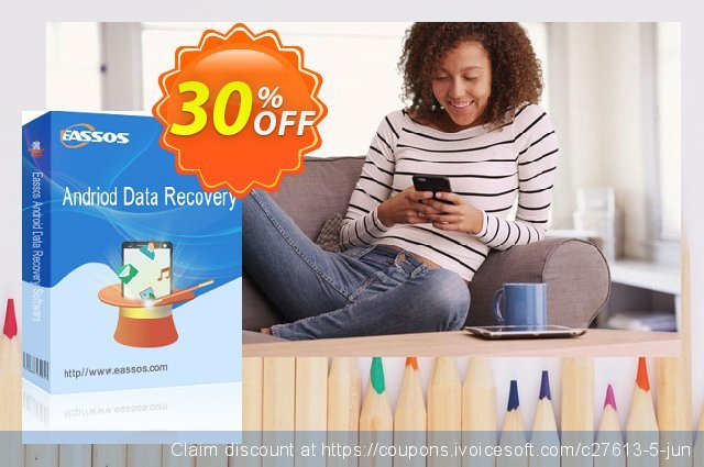 Eassos Android Data Recovery 令人敬畏的 产品销售 软件截图