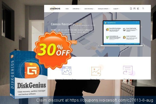 DiskGenius Professional discount 30% OFF, 2020 New Year's Day offering sales