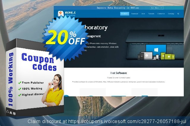 Renee iPassFix For Windows discount 20% OFF, 2020 Thanksgiving Day discounts