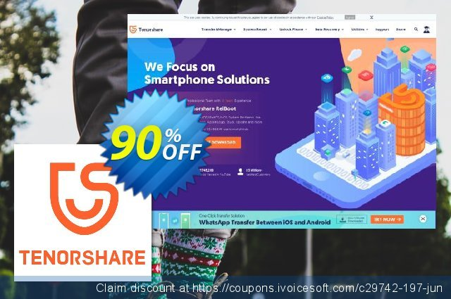 Tenorshare Video Converter for Mac discount 90% OFF, 2020 Student deals offer