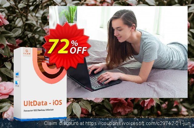 Tenorshare UltData discount 73% OFF, 2020 Happy New Year discounts