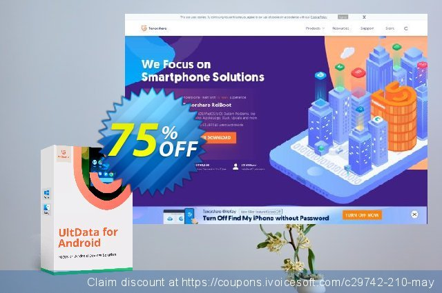 Tenorshare UltData - Android Data Recovery discount 38% OFF, 2019 Thanksgiving Day promotions