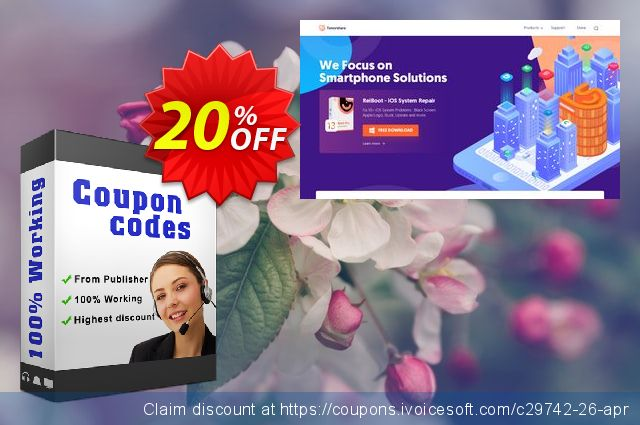 Tenorshare Windows Password Reset Professional discount 20% OFF, 2020 Happy New Year discount