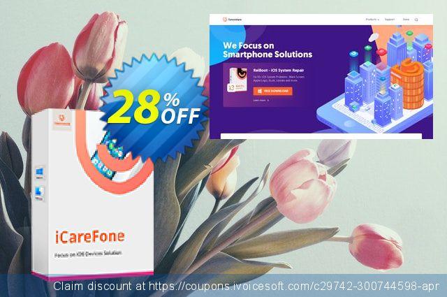 Tenorshare iCareFone for Mac - Family Pack 惊人 折扣码 软件截图