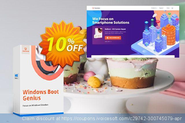 Tenorshare Windows Boot Genius (Family Pack)  특별한   제공  스크린 샷