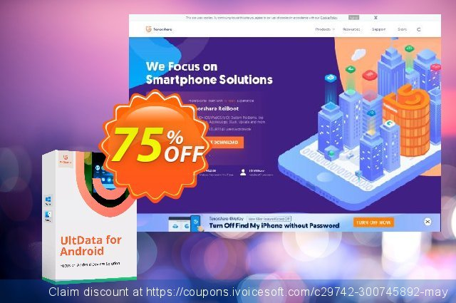 UltData for Android discount 75% OFF, 2020 Back to School event discount