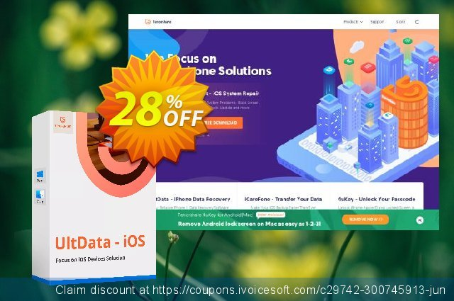 Tenorshare WhatsApp Recovery-Family Pack discount 28% OFF, 2020 Spring offering sales