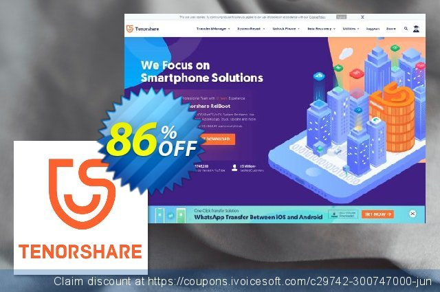 Get 86% OFF Tenorshare PDF Password Remover for Mac (2-5 Macs) promo sales