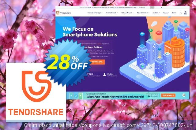 Tenorshare PDF Password Remover for Mac (Unlimited) discount 28% OFF, 2020 College Student deals offering sales