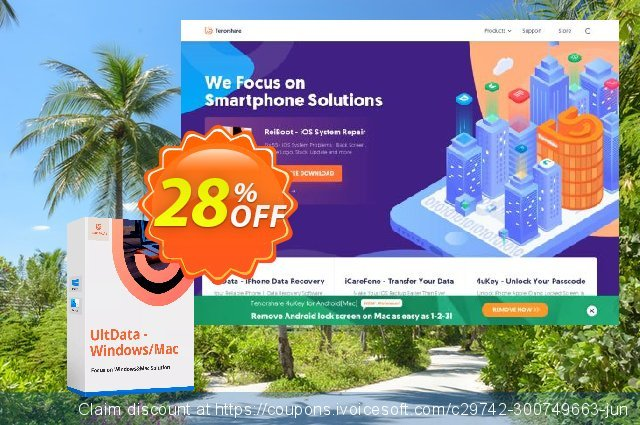 Tenorshare Photo Data Recovery (Unlimited PCs) 最佳的 产品销售 软件截图