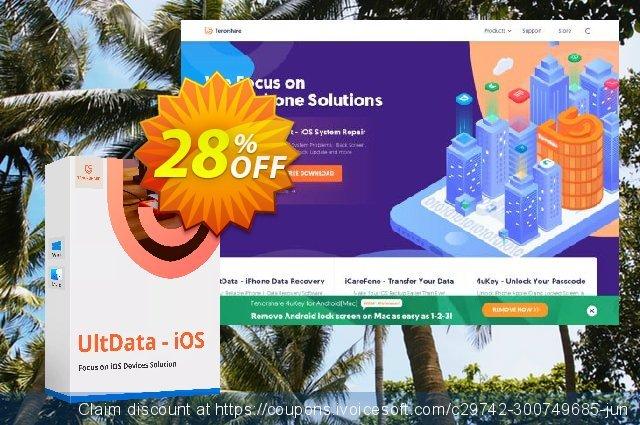 Tenorshare UltData for iPod - Family Pack 优秀的 产品销售 软件截图