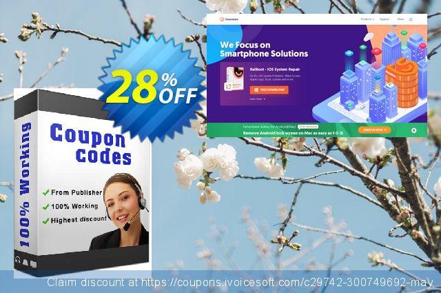 Tenorshare Fix Genius (Family Pack) 超级的 产品销售 软件截图