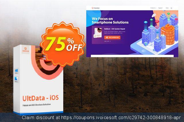 Tenorshare Ultdata for iOS (Mac)  - 1 Year  최고의   매상  스크린 샷