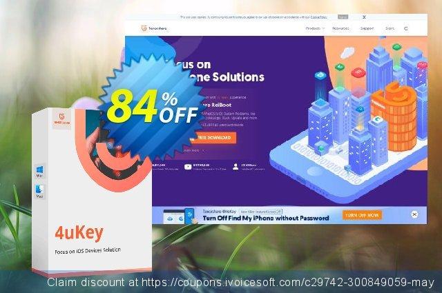 Tenorshare 4uKey for Mac - (6-10 Devices)  굉장한   세일  스크린 샷
