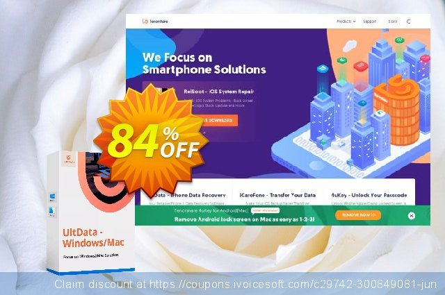 Tenorshare UltData - Mac Data Recovery (2-5 Macs)  위대하   할인  스크린 샷
