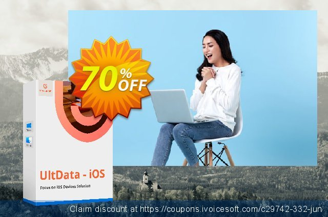 Tenorshare UltData for Mac (1-year) discount 30% OFF, 2019 Working Day deals