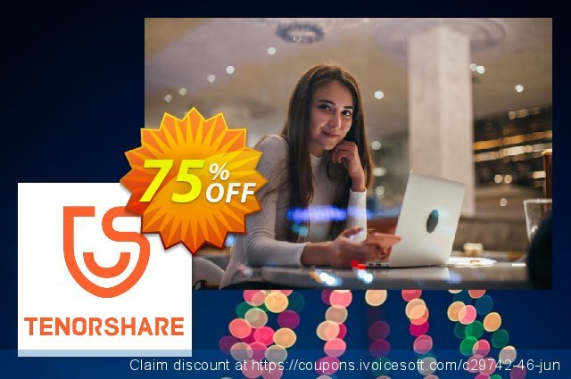 Tenorshare PDF Password Remover discount 75% OFF, 2019 Black Friday offering sales