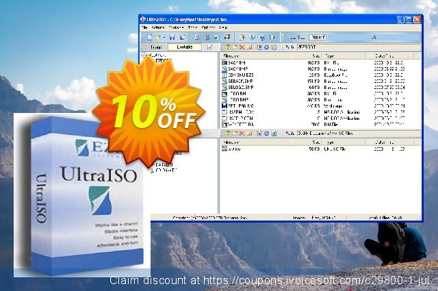 UltraISO discount 10% OFF, 2020 Father's Day offering sales