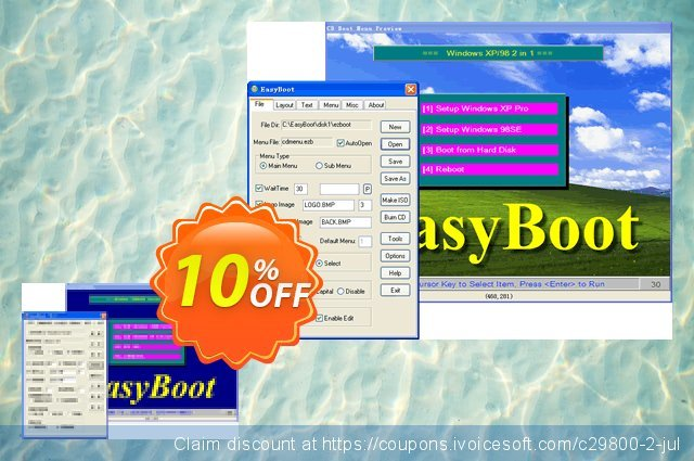 EasyBoot discount 10% OFF, 2020 Summer offering sales