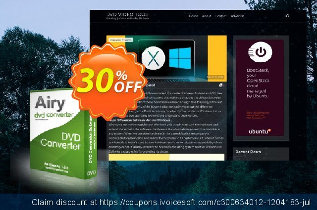 Airy DVD Converter discount 30% OFF, 2021 New Year deals