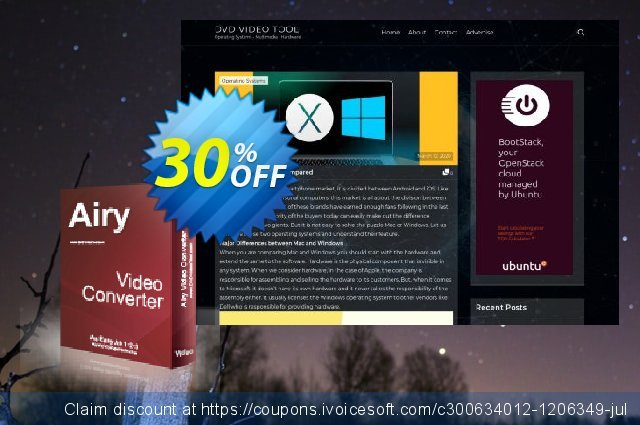 Airy Video Converter discount 30% OFF, 2021 January deals