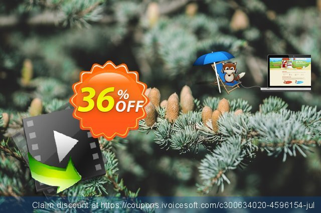 imElfin Video Converter for Mac discount 36% OFF, 2021 New Year's Weekend discount