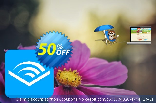 imElfin Audible Converter for Mac discount 50% OFF, 2021 January deals