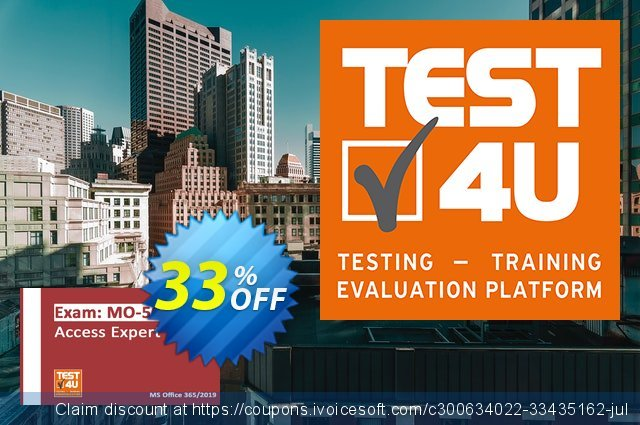 MO-500 Access Expert Exam discount 20% OFF, 2021 January offering sales