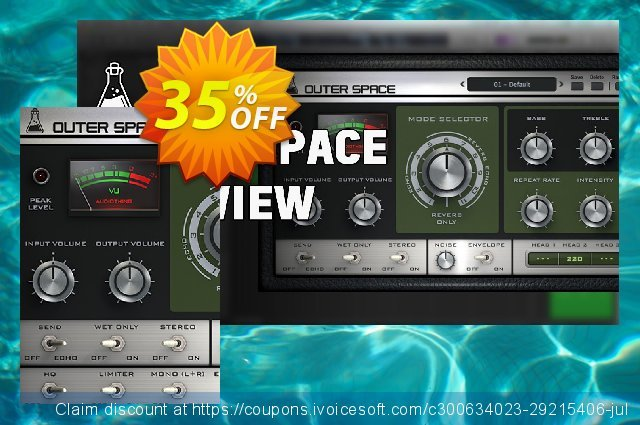AudioThing Outer Space discount 35% OFF, 2021 Earth Hour promo sales