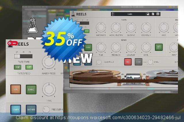 AudioThing Reels discount 35% OFF, 2021 Earth Hour discount